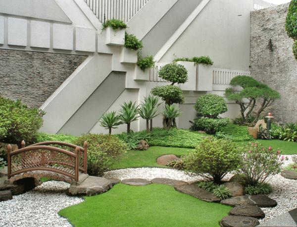 Декор ландшафтного дизайна